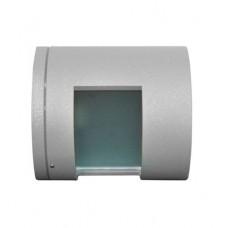 Φωτιστικό Κύλινδρος Μονής Κατεύθυνσης 1xG9 230V Αλουμινίου Γκρί 9098 IP44 920d816f7b7
